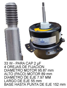 Forzador Split Exterior 33w 890 Rpm >Ic9425n2lc5a