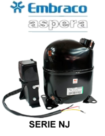 Motocompresor 1.5 Hp R404A/R22 32.67 cc 220v NJ9238GK