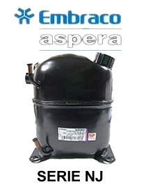 Motocompresor 1.5 Hp R404A/R22 32.67 cc 380v NJ9238GS