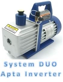 Bomba Vacio 70 L/Min 2 Etapas <Strong>Duo System Use In Inverter</Strong>