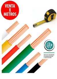 Cable Unipolar 2.5 mm Marron Venta X Metro