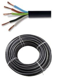 Cable Vaina Redonda TPR 5 x 1.5 mm Rollo x 100 Mts