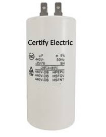 Capacitor Marcha 1.9 µf